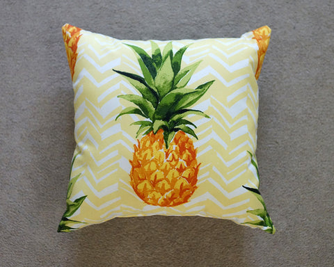 Pineapple Chevron Pillows