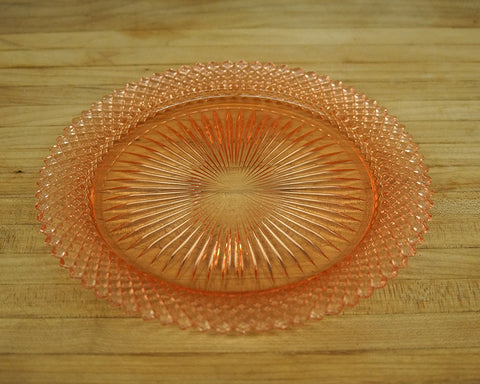 Vintage Pink Serving Tray - Round