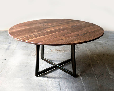 "60"" Walnut Dining Table - For Sale"