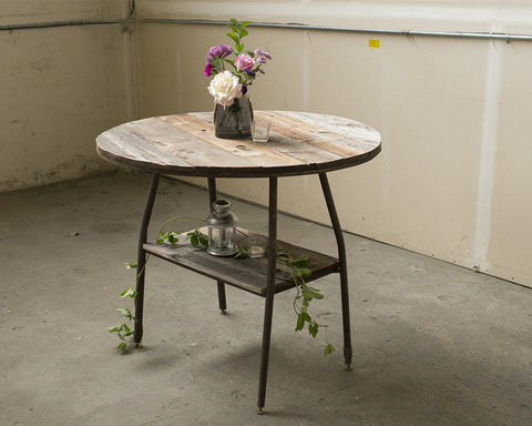 2 Tier Reclaimed Table