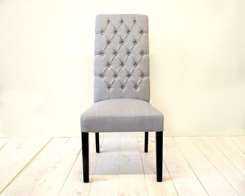 Merveilleux Tall Back Upholstered Chairs
