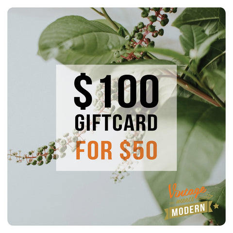 $100 Gift Card (for $50)
