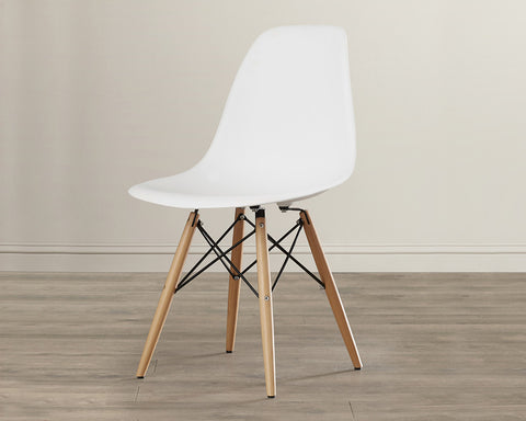 White Shell Chairs