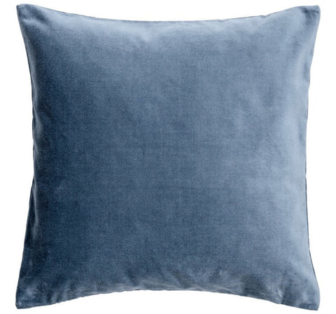 Blue Velvet Pillows