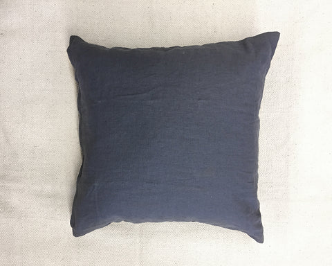 Washed Linen Pillow - Charcoal