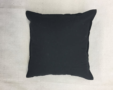 Washed Linen Pillow - Black