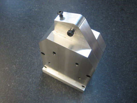 Aluminum Machined Center Ankle, Square