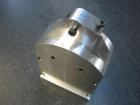 Aluminum Machined Center Ankle, Round