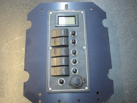 68.   Flip Down Panel with Electrical switches