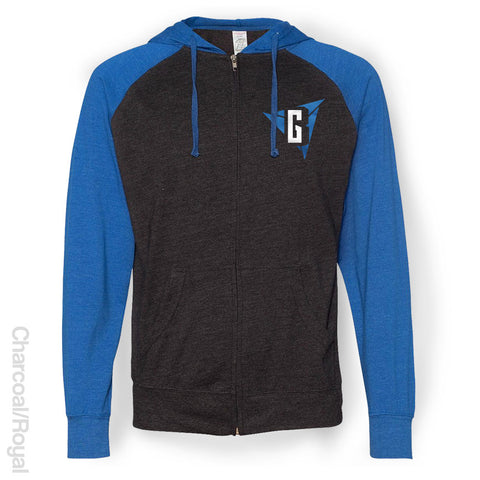 Briley Gaming - Raglan Full-Zip Hoody