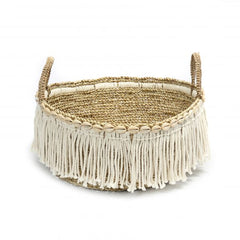 The Boho Fringe Basket