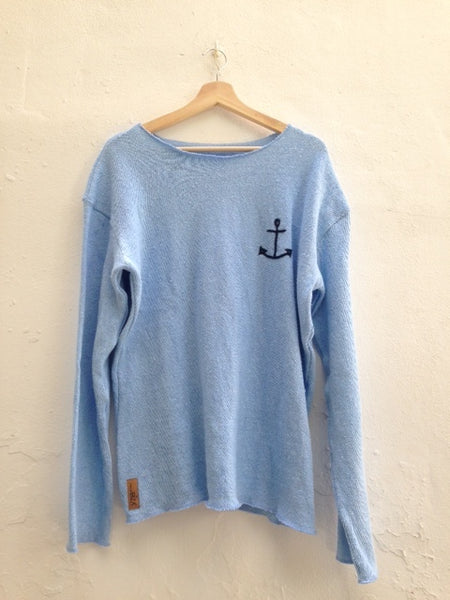 "Sweater for MEN ""Anchor sign"""