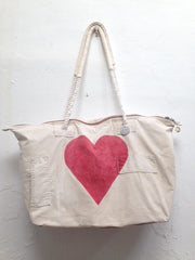 "Weekend Bag ""heart"""