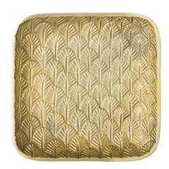 Square Golden Tray