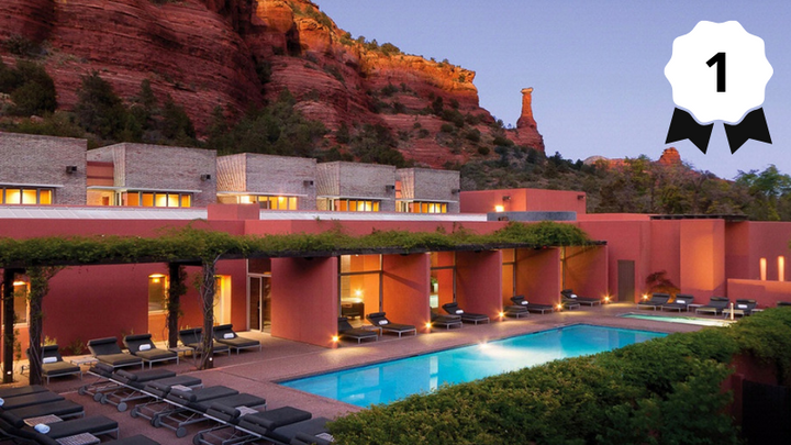Top 5 Resorts in The Southwest: Readers' Choice Awards 2018