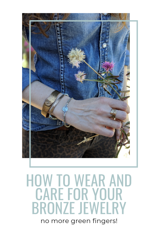 how to wear and care for bronze jewelry