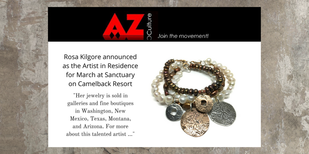 Rosa Kilgore Jewelry Arizona AZ Culture