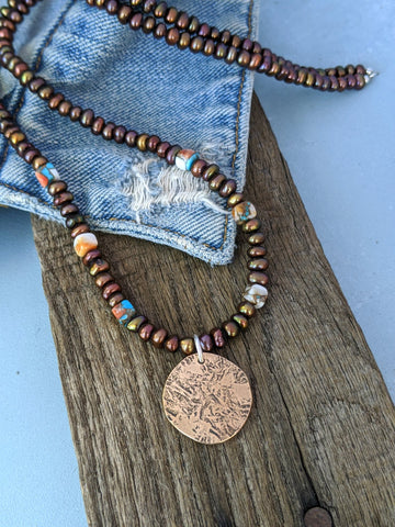 Sunrise Stone Necklace