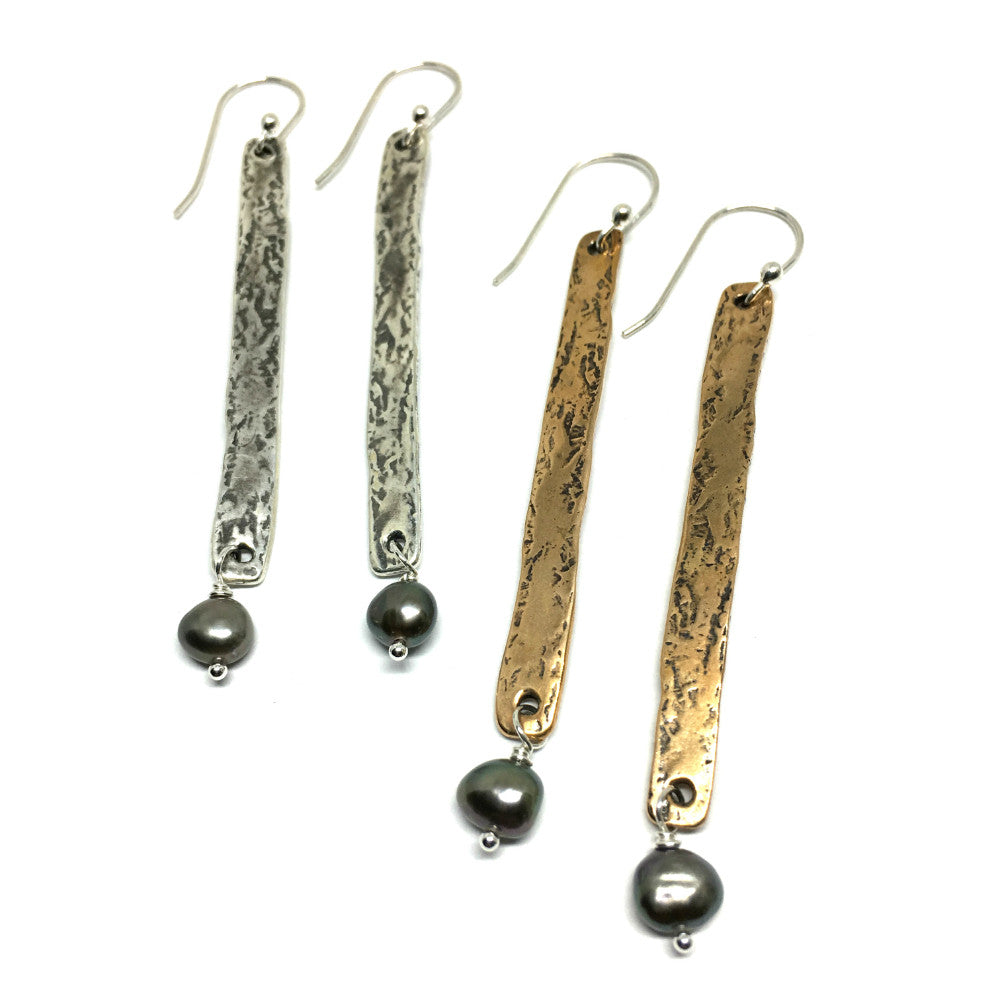 Evoke Pearl Earrings