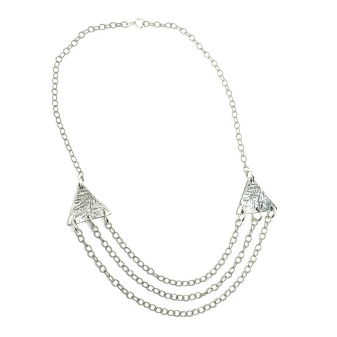 West Wind Triple Chain Necklace