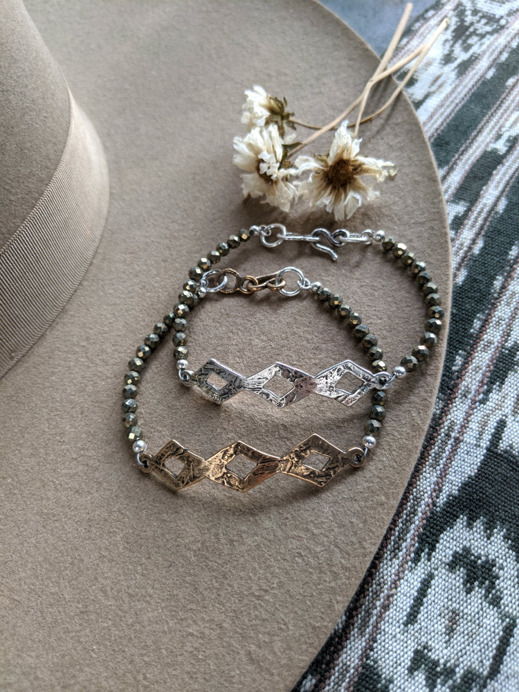 Large Diamondback Bracelet