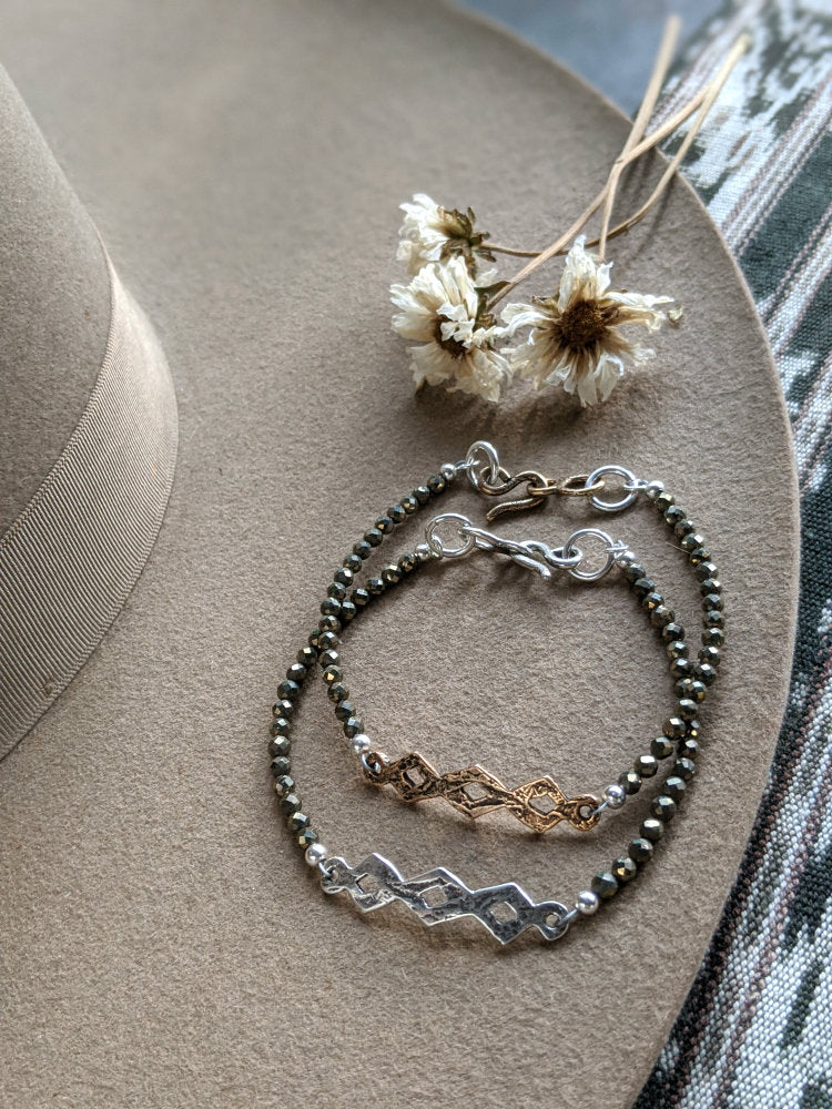 Small Diamondback Bracelet