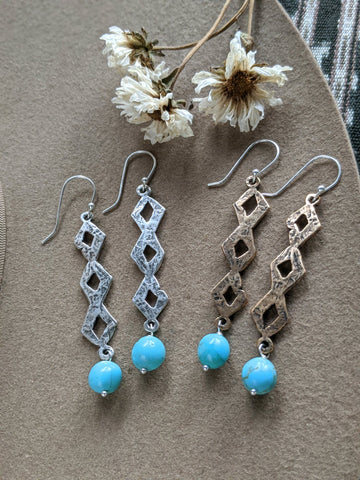 Diamondback Earrings