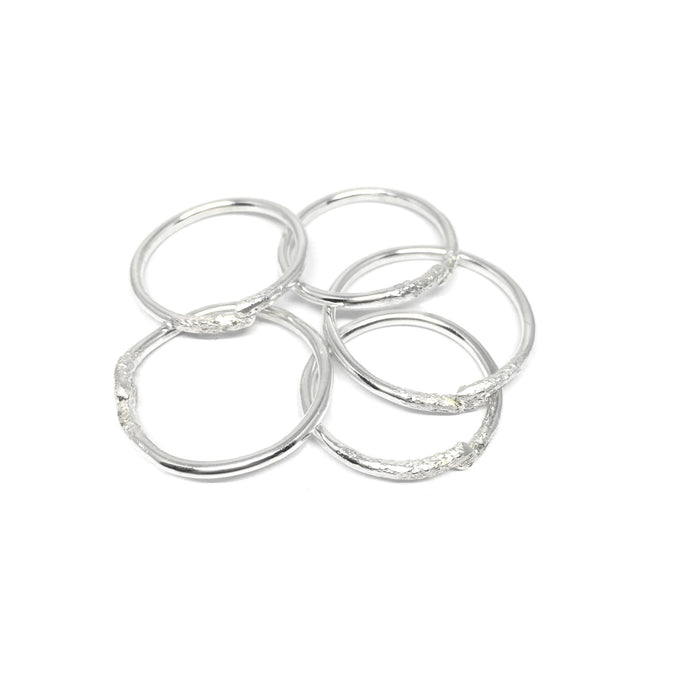 Sterling Silver Knuckle Rings