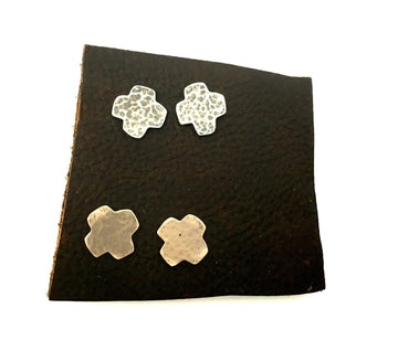 Southwestern Cross Post Earrings