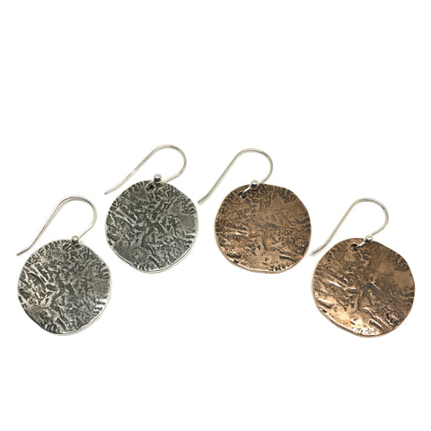 Ancient Coin Earrings