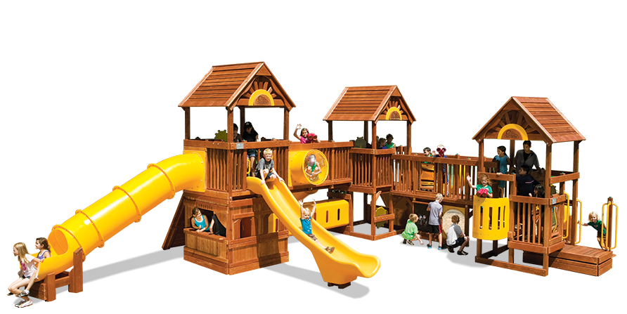 Play Village Commercial Playground (54C)