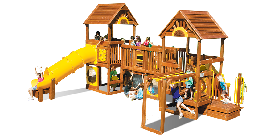 Play Village Commercial Playground (53B)