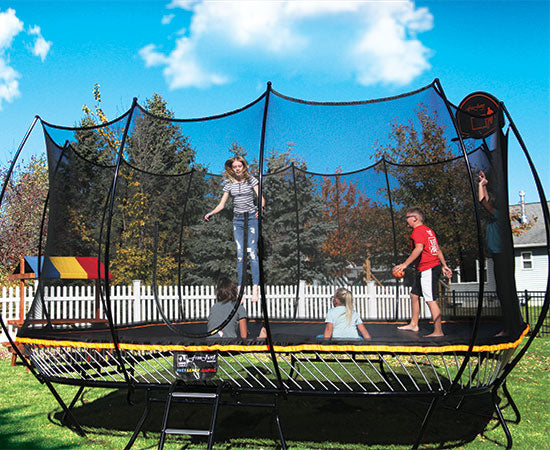 Freejump 14' Square Springless Trampoline