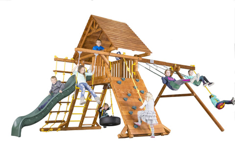 Carnival Castle Pkg II with Wood Roof (32B)