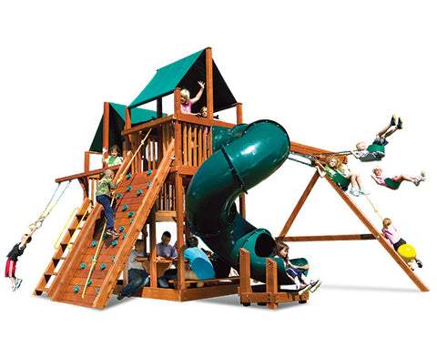 King Kong Clubhouse Pkg II with Spiral Slide (53C)