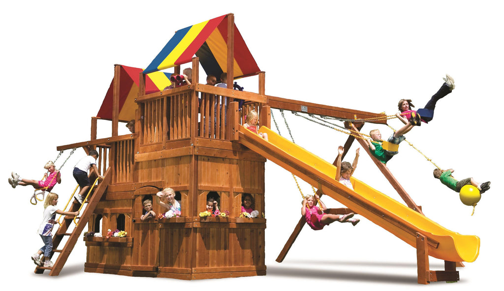 King Kong Clubhouse Pkg II with Lower-Level Playhouse (54D)