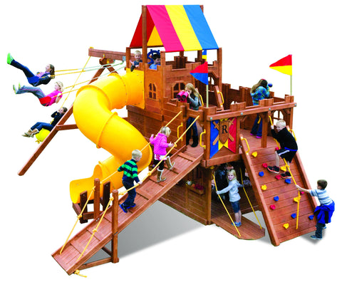 Kingdom Pkg II Playset with Spiral Slide (97A)