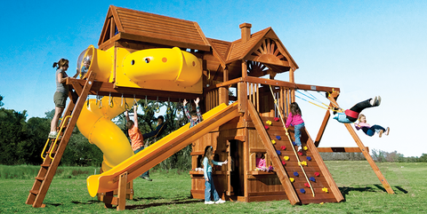 Huckleberry Hideout Pkg V Maxed Out Playset (98D)