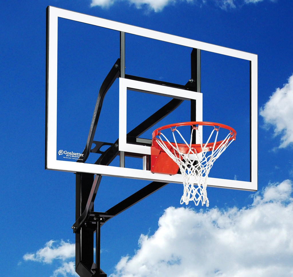 "Signature Series - All-American 60"" In-Ground Basketball Goal - Black Friday DEAL $300 OFF"