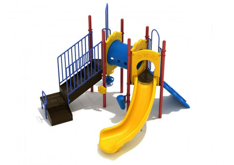 Atlas Commercial Steel Play System - INSTALLED