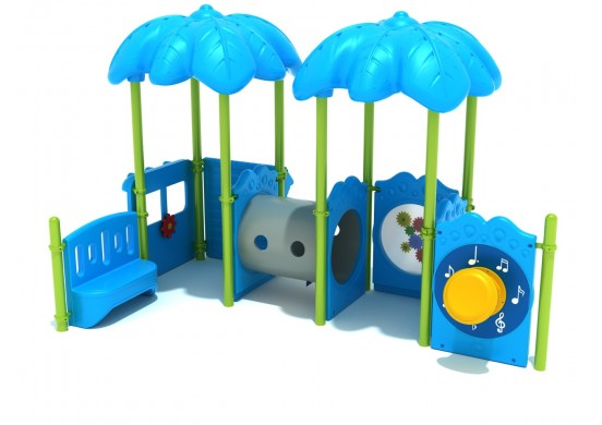 Beach Bus Stop Commerical Steel Play System