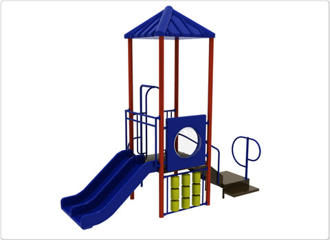 Bryce Commercial Steel Play System - INSTALLED
