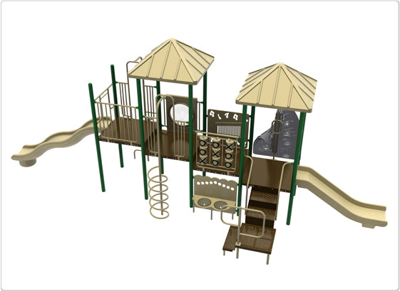 Denali Commercial Steel Play System - INSTALLED
