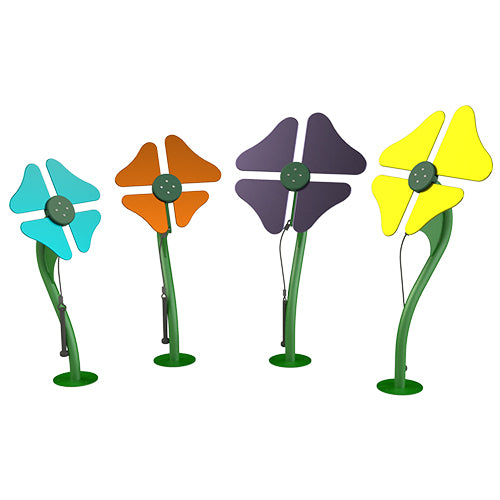 Musical Chimes Flower- INSTALLED