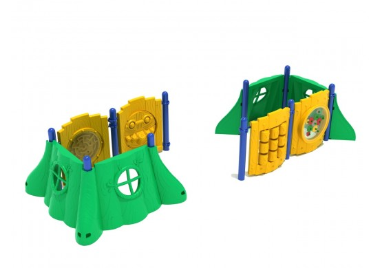 Forest Fun Commerical Steel Play System