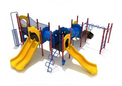 Great Expedition Commercial Steel Play System - INSTALLED