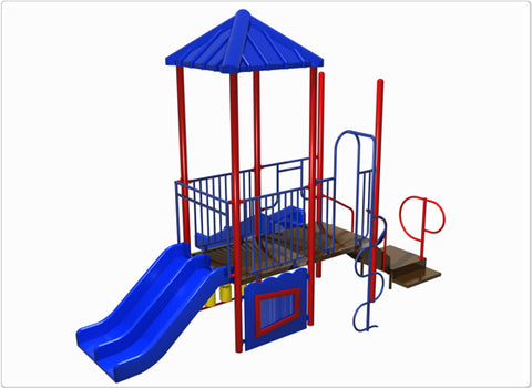 Hot Springs Commercial Steel Play System - INSTALLED