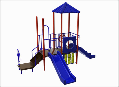 Katmai Commercial Steel Play System - INSTALLED