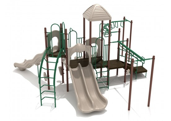 Knights Castle Commercial Steel Play System - INSTALLED