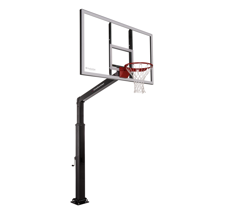 "Launch - 60"" In-Ground Basketball Goal"